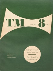 Cover from 1943 issue 8