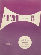 Cover from 1943 issue 11-12