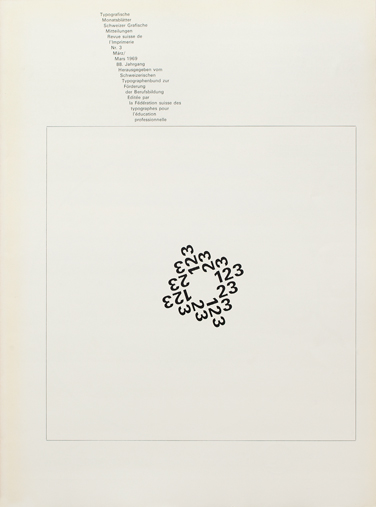 Cover from 1969 issue 3