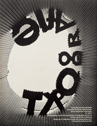 Cover from 1971 issue 10