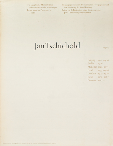 Cover from 1972 issue 4