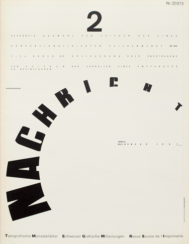 Cover from 1973 issue 2